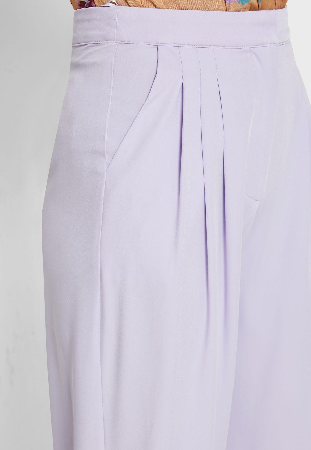 Folded Cuffed Pants