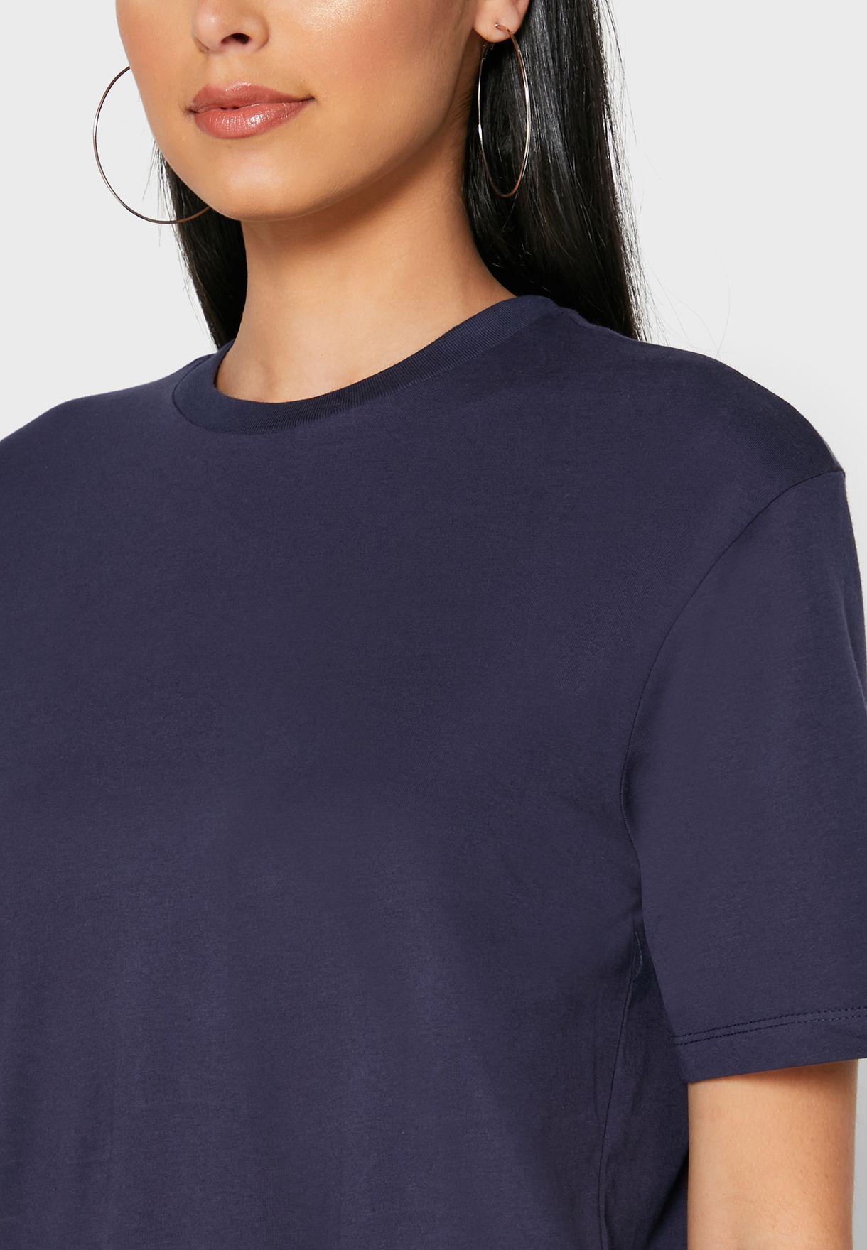 Oversized Graphic Back T-Shirt
