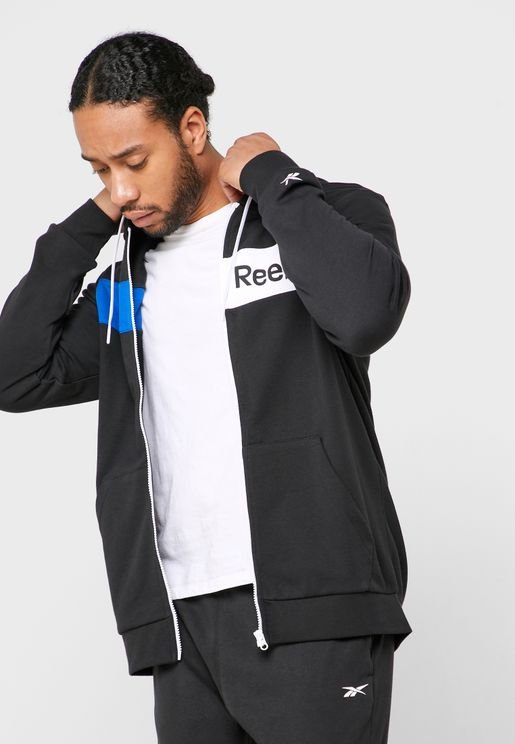 Training Essential Linear Logo Hoodie