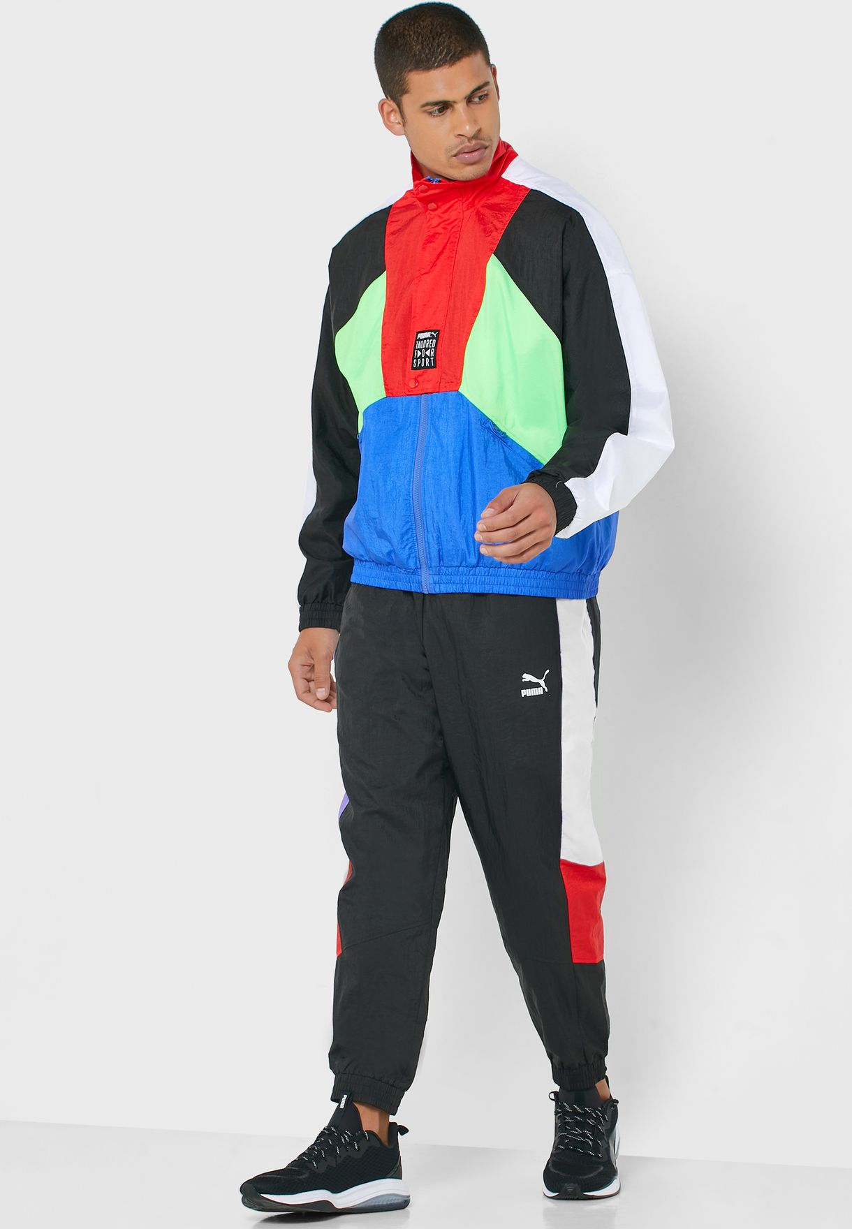TFS Colour Block Track Jacket