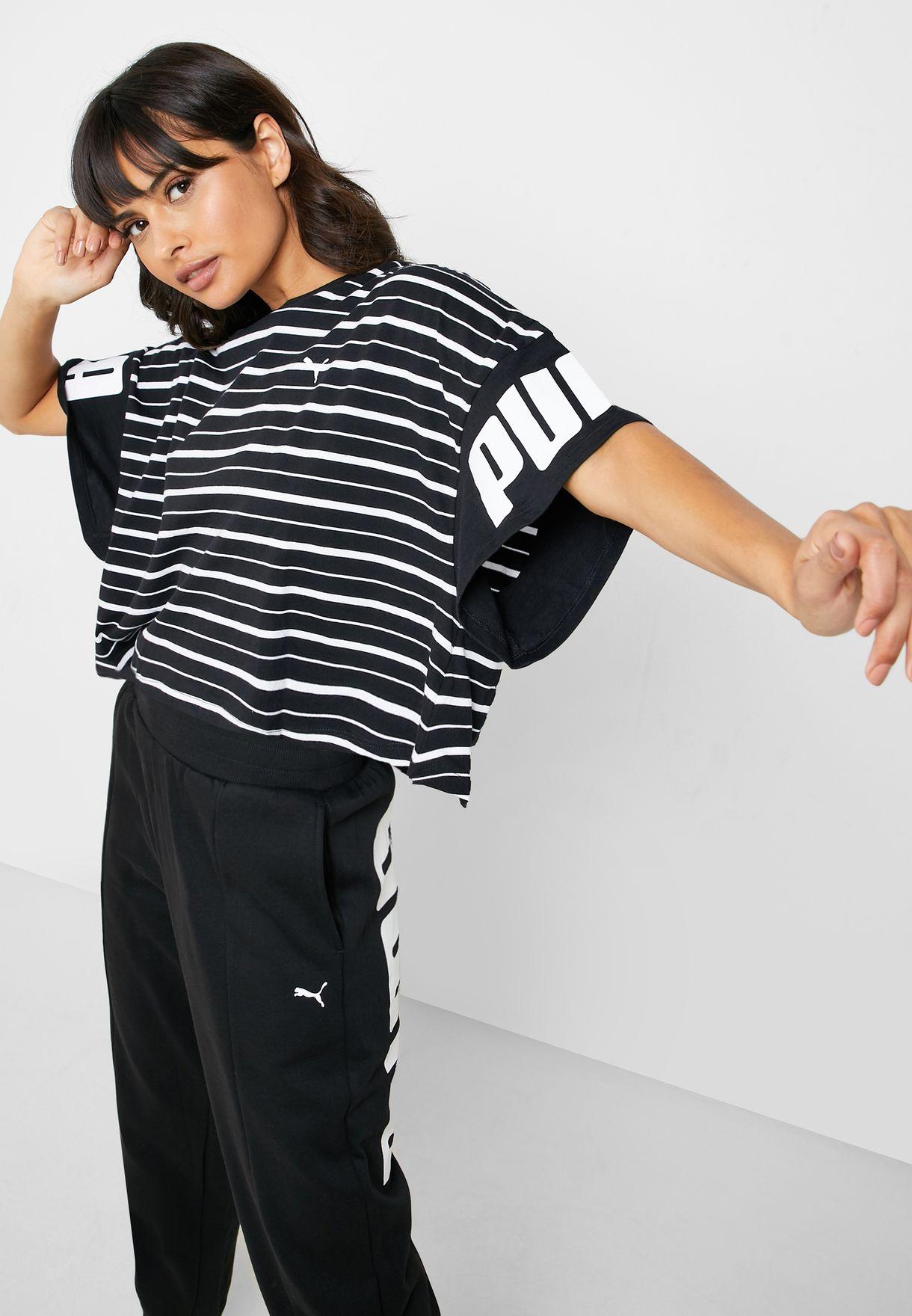 Rebel Striped T-Shirt