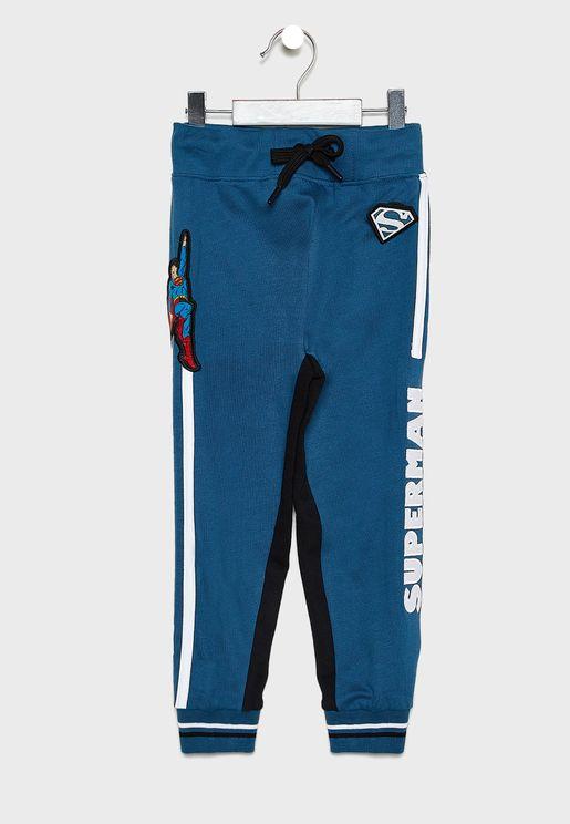 Kids Superman Sweatpants