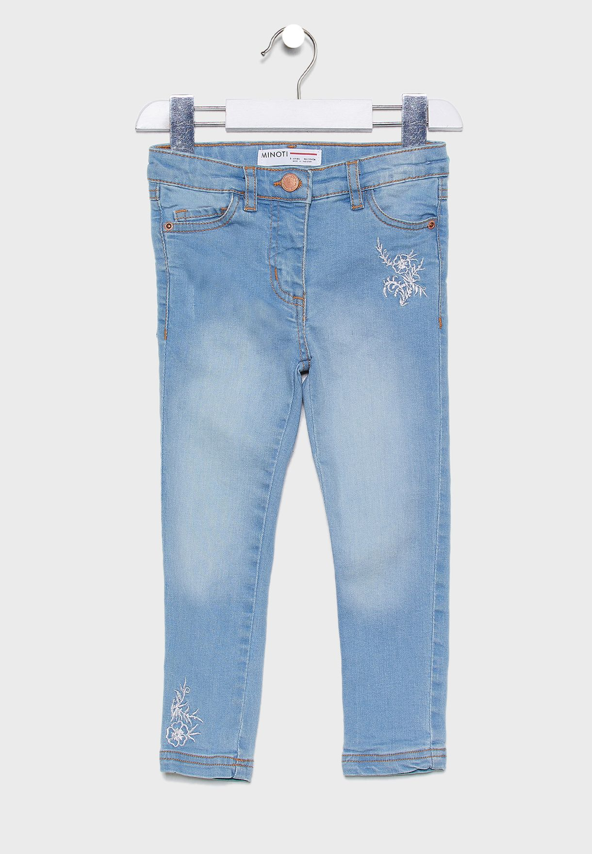 Little Embroidered Jeans