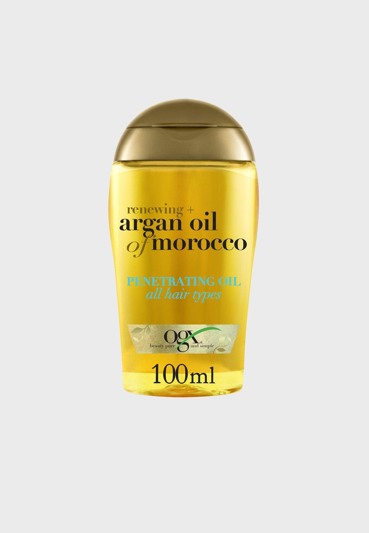 زيت مجدد للشعر بزيت الارغان المغربي - 100 مل