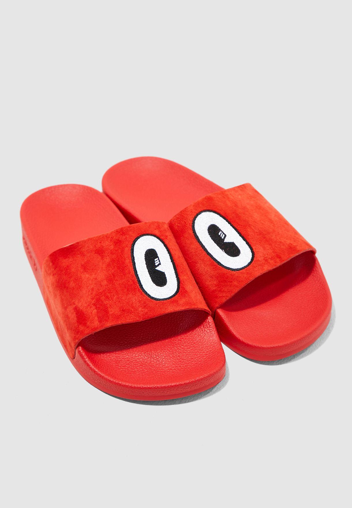 48a296f84ecb6b Shop adidas Originals red Adilette CM8412 for Women in UAE ...