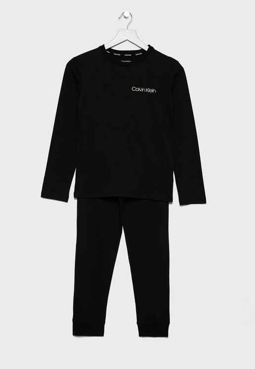 Teen Logo T-Shirt + Sweatpants Set