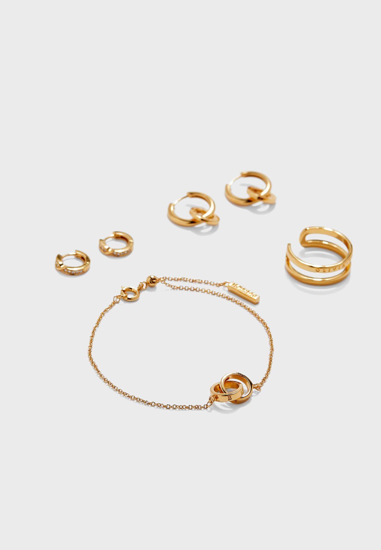 The Classics Bracelet+Earrings Gift Set