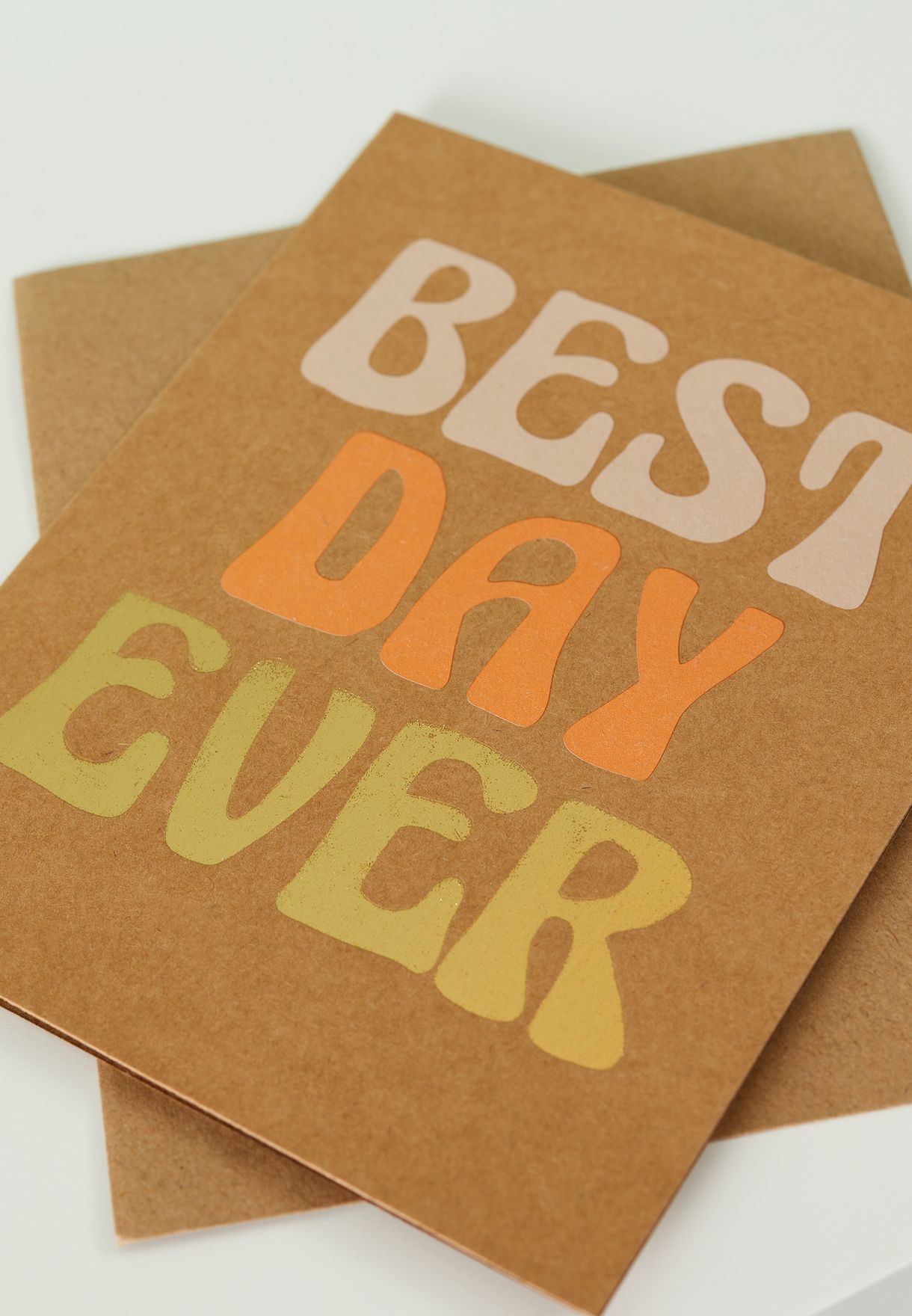 Best Day Ever Congratulations Card