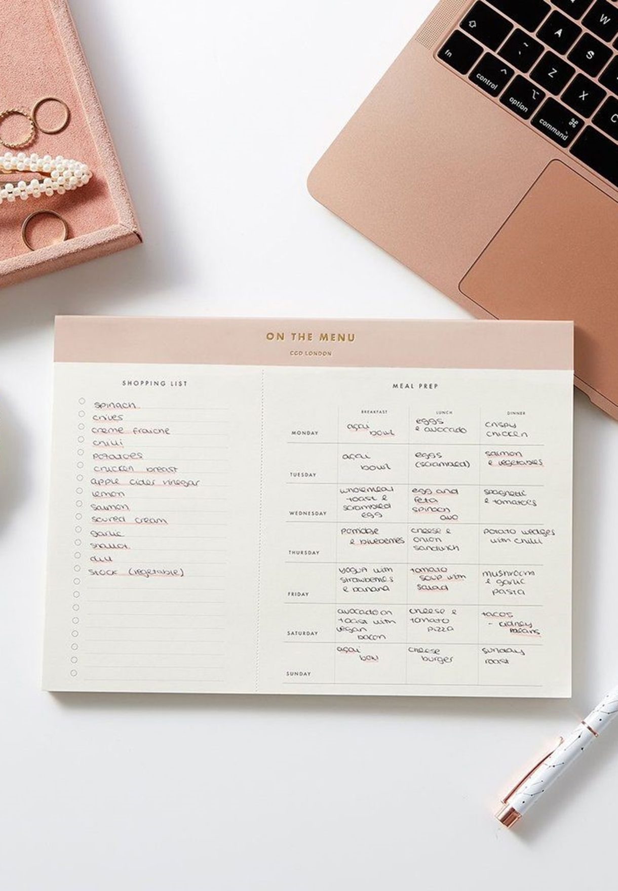 The Meal Planner Pad