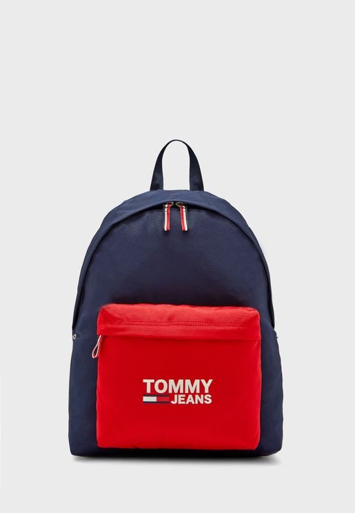 Colorblock Logo Backpack