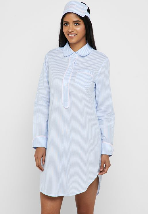 Checked Shirt Nightdress