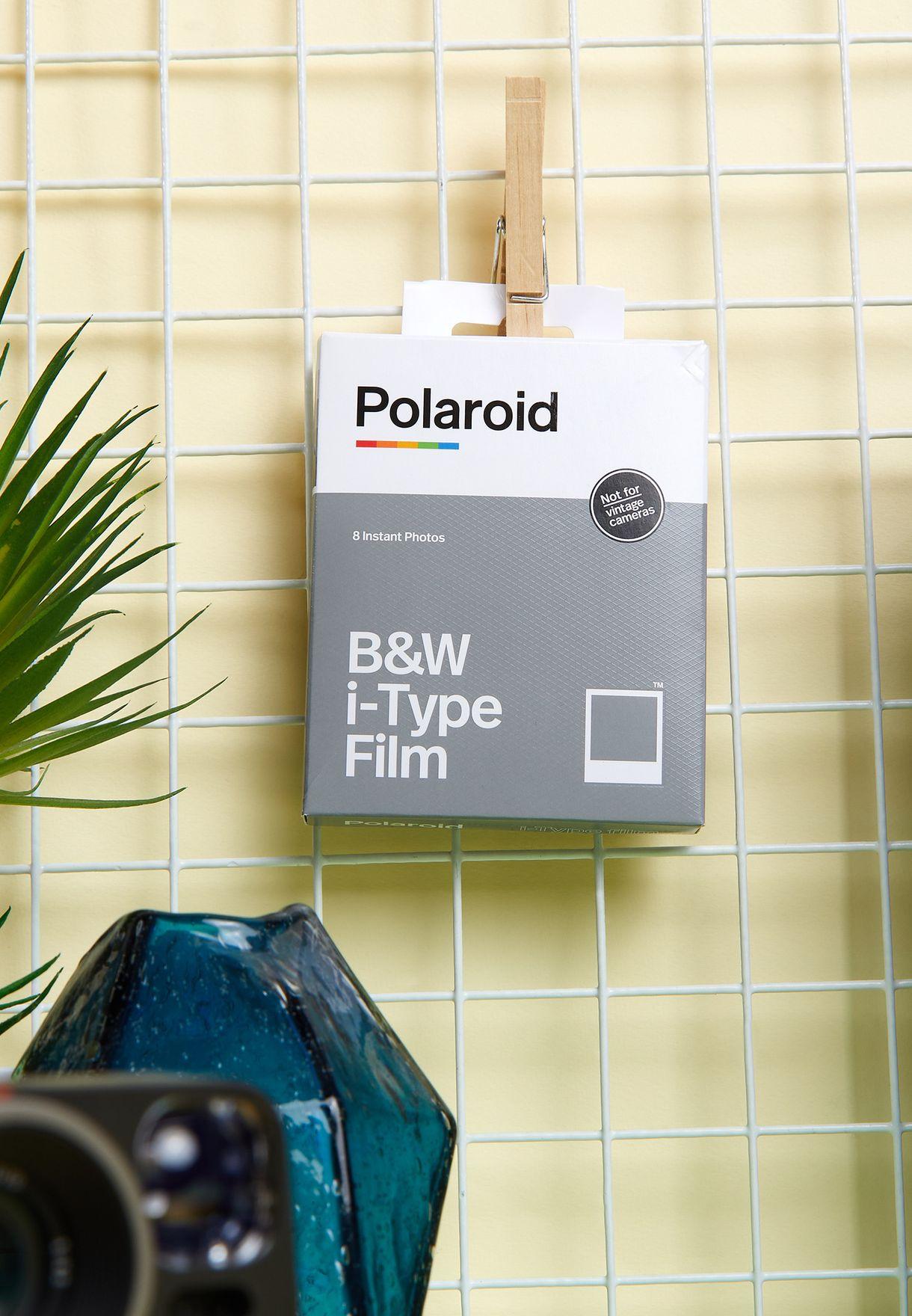طقم أفلام تصوير بالأبيض والأسود لكاميرا أي-تايب مكون من 8 قطع أبيض