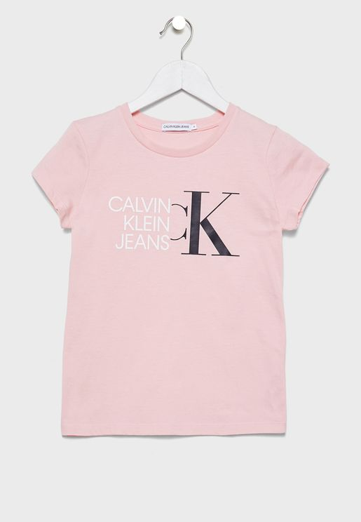 Kids Logo Printed T-Shirt