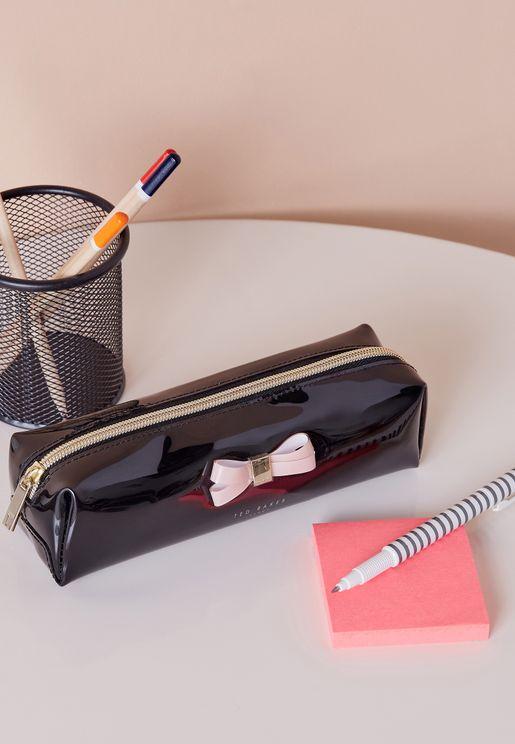 Bow Detail Pencil Case