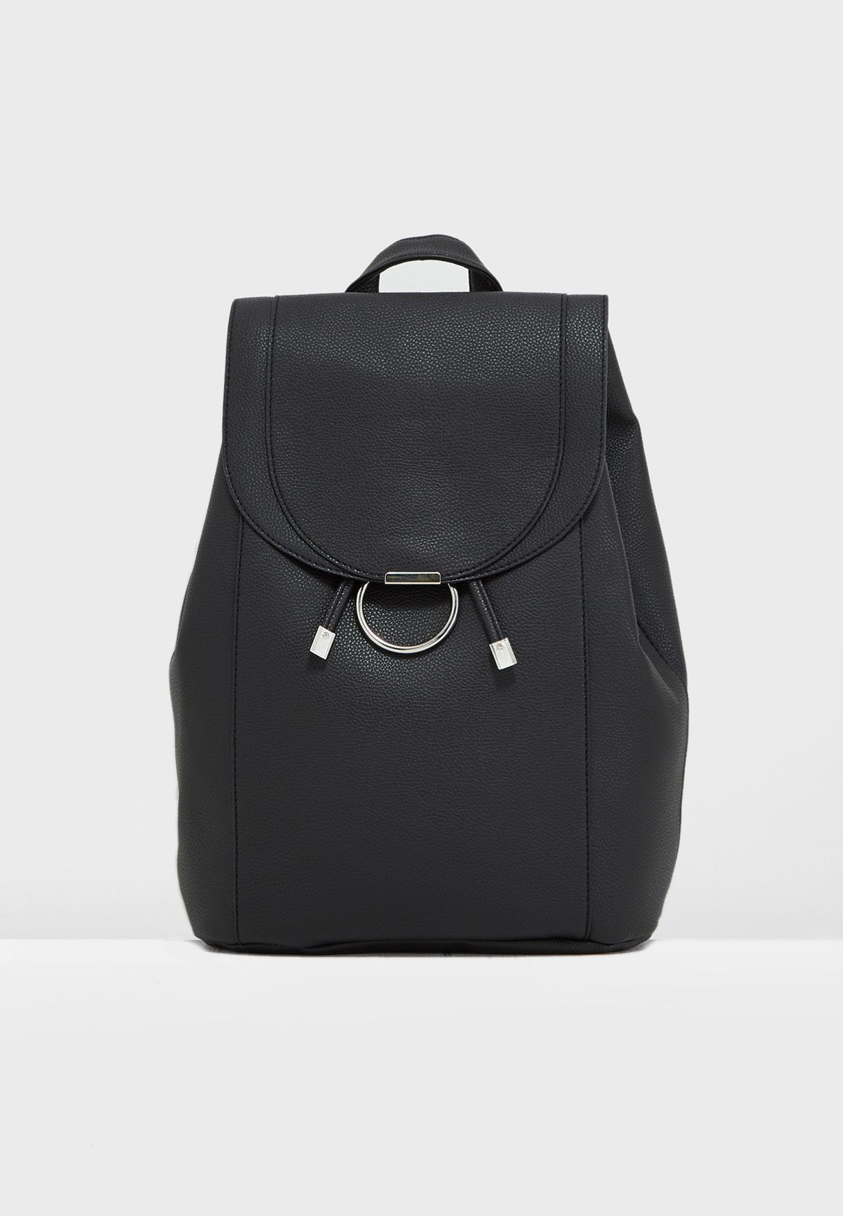 4cc1dd1a2 Shop New Look black Ring Front Backpack 572025101 for Women in UAE -  17736AC45NGP