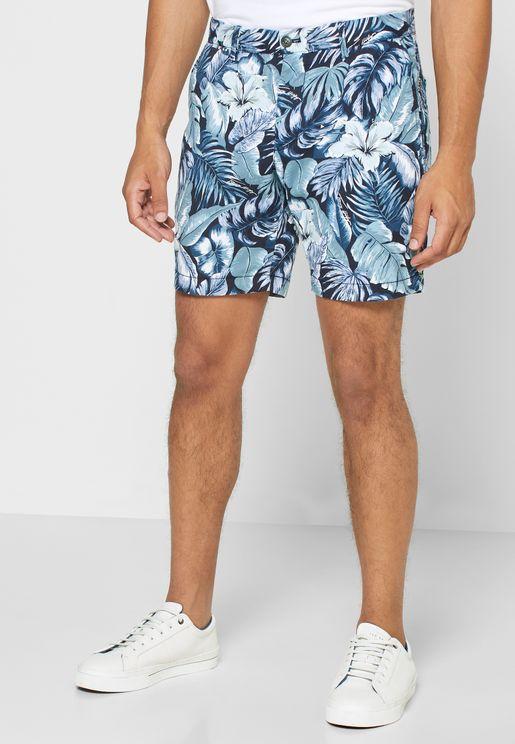Brooklyn Floral Print Shorts