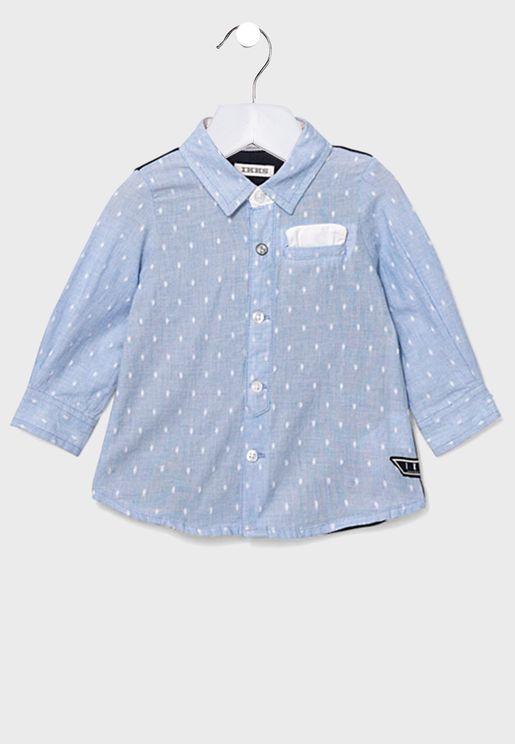 قميص بجيب للاطفال