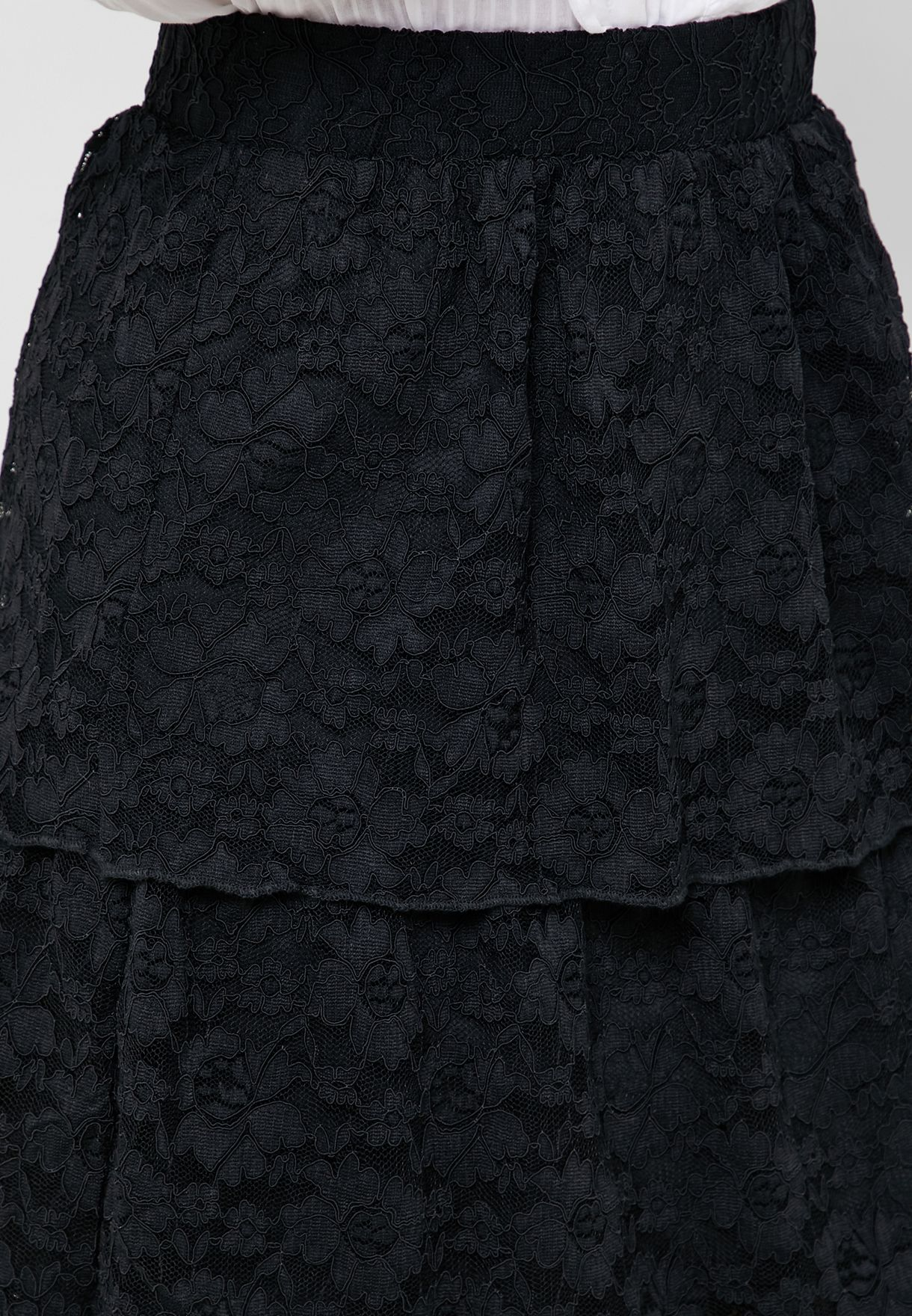 Layered Lace Skirt