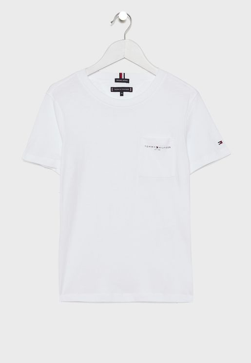 Teen Pocket Logo T-Shirt