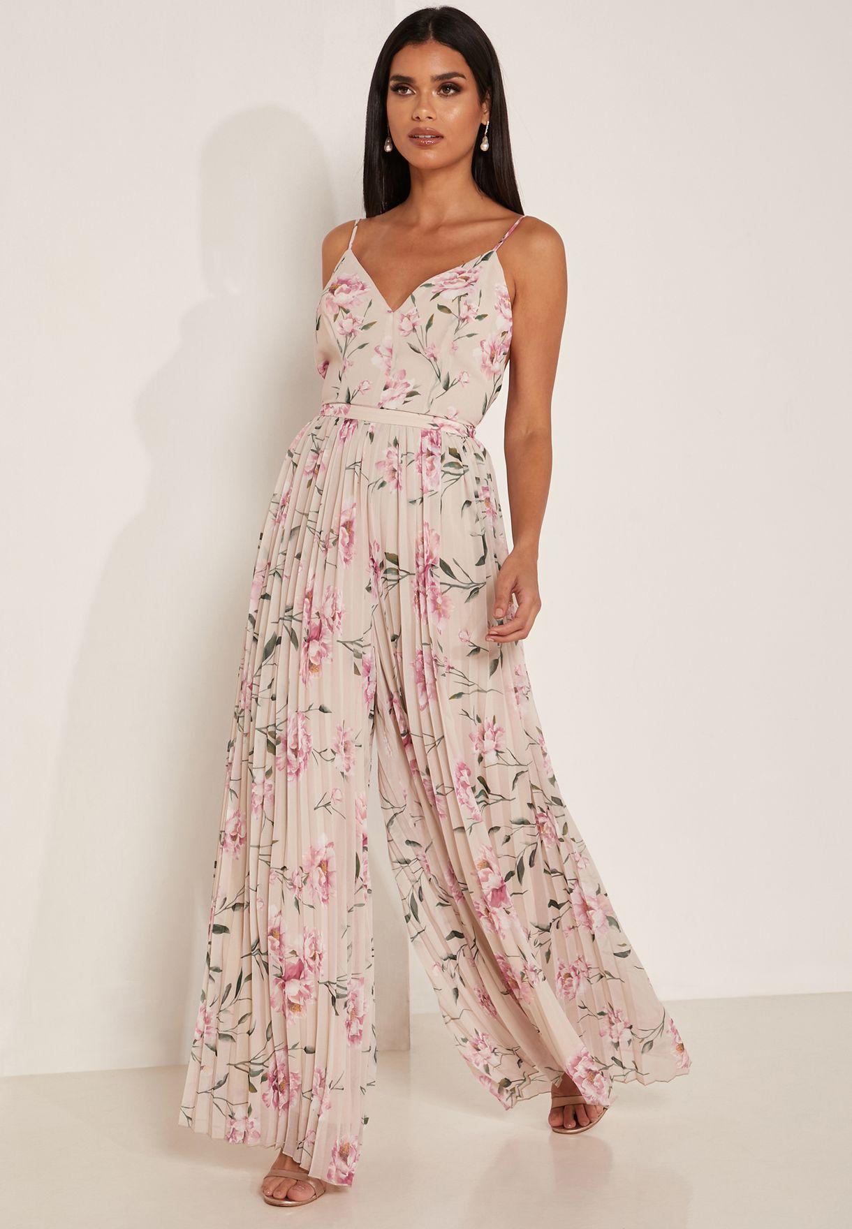 Nobody Floral Print Jumpsuit