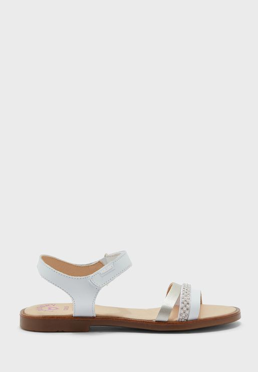 Youth Multi Strap Sandal