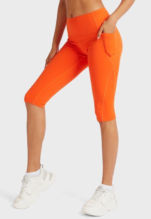 Essential Knee Length Leggings