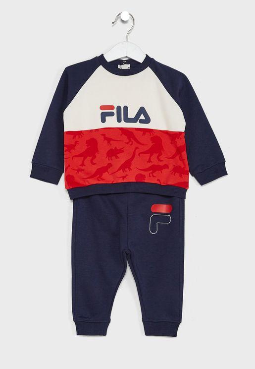 Infant Logo Colour Block Tracksuit