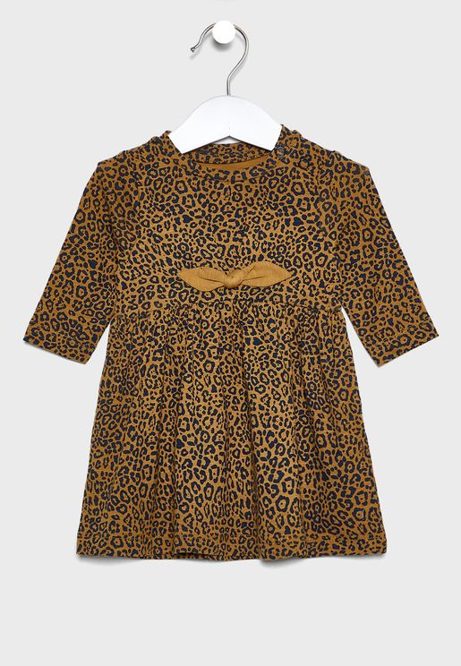 Infant Leopard Dress