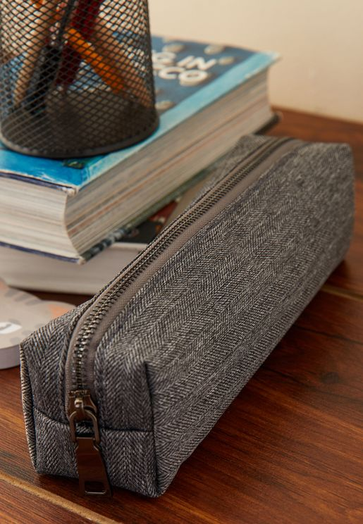Textured Pencil Case