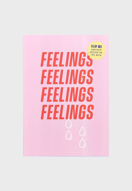A6 Mini Feelings Notebook