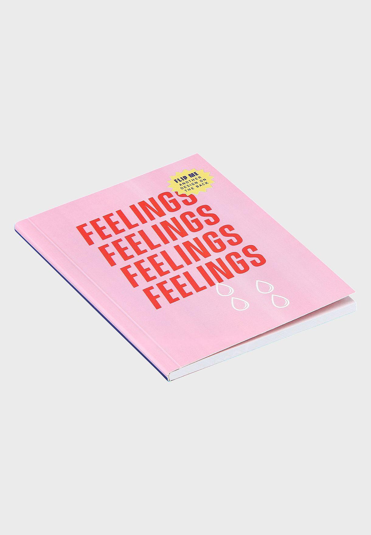 A6 Mini Feelings Notebook