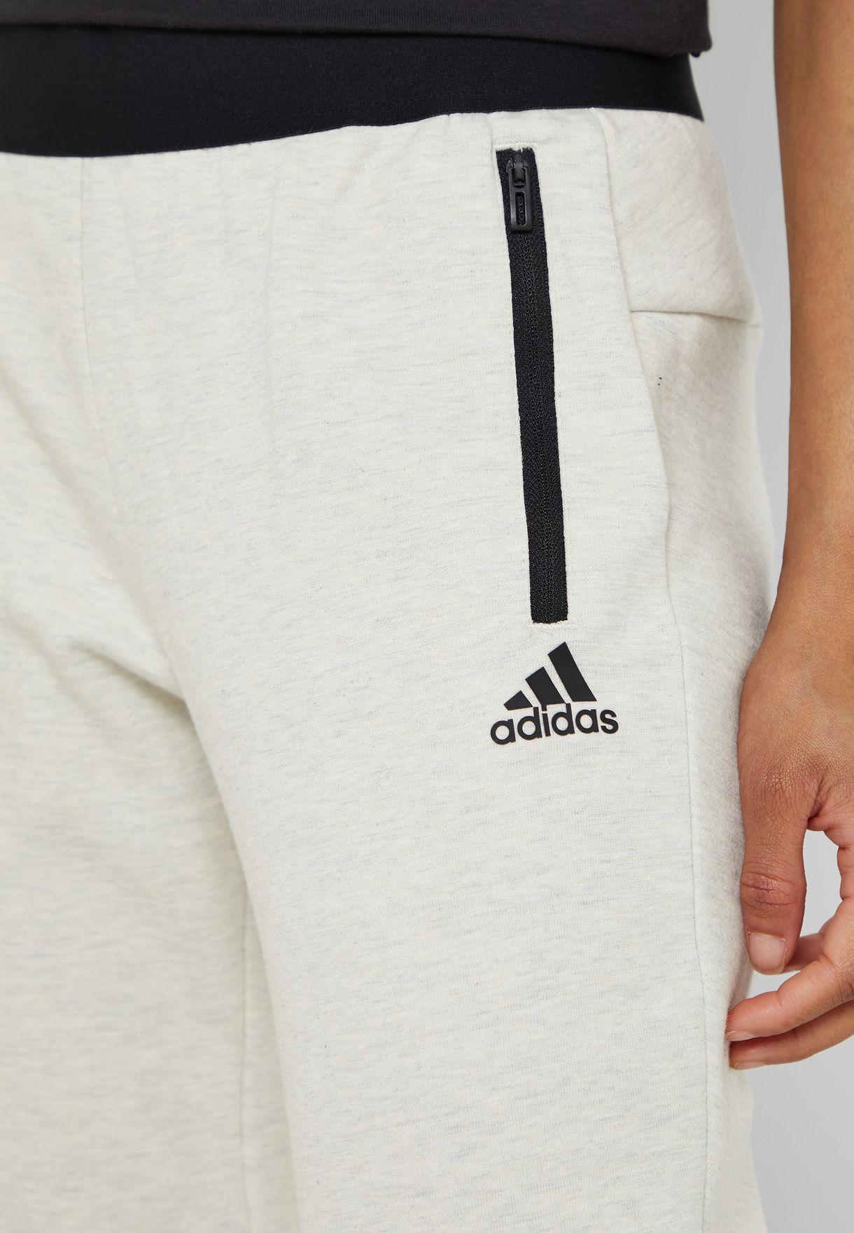 87f55a37a1ef65 Shop adidas beige ID Stadium Sweatpants DP3903 for Women in UAE ...