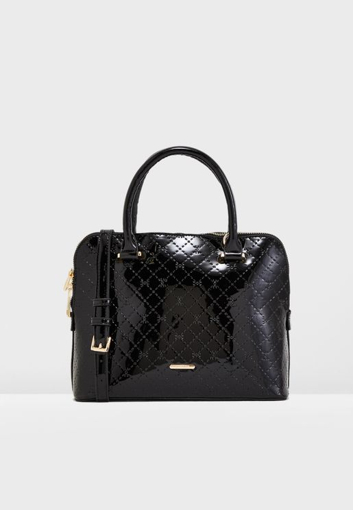 Doubel Handle Quilted Tote