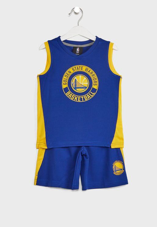 Kids Golden State Warriors Leader Muscle Set