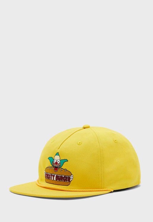 Simpsons Krusty Shallow Cap