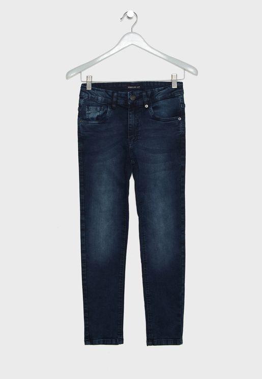 Teen Straight Jeans