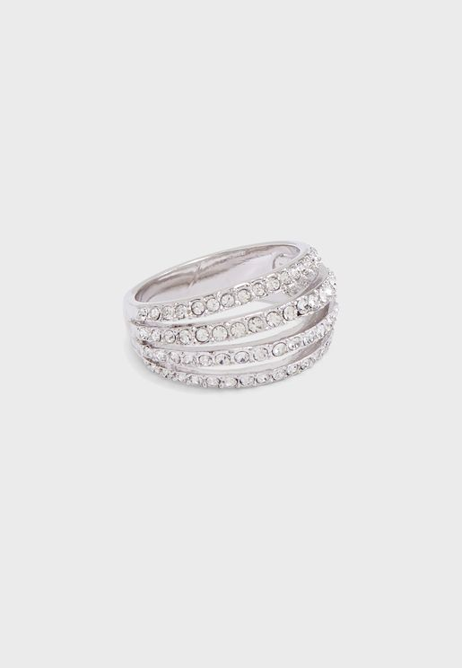 Harriet Pave Strands Ring