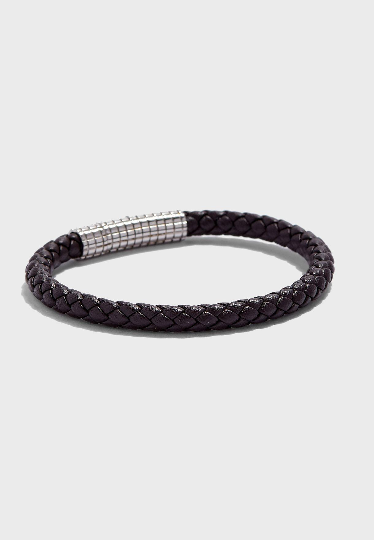 Leather Pattern Bracelet