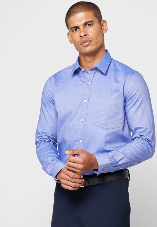 Oxford Dobby Formal Shirt
