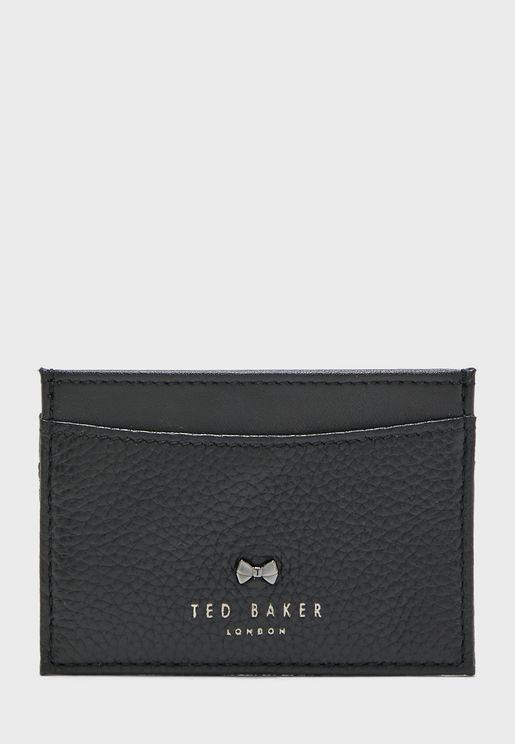 Lissie Bow Detail Leather Card Holder