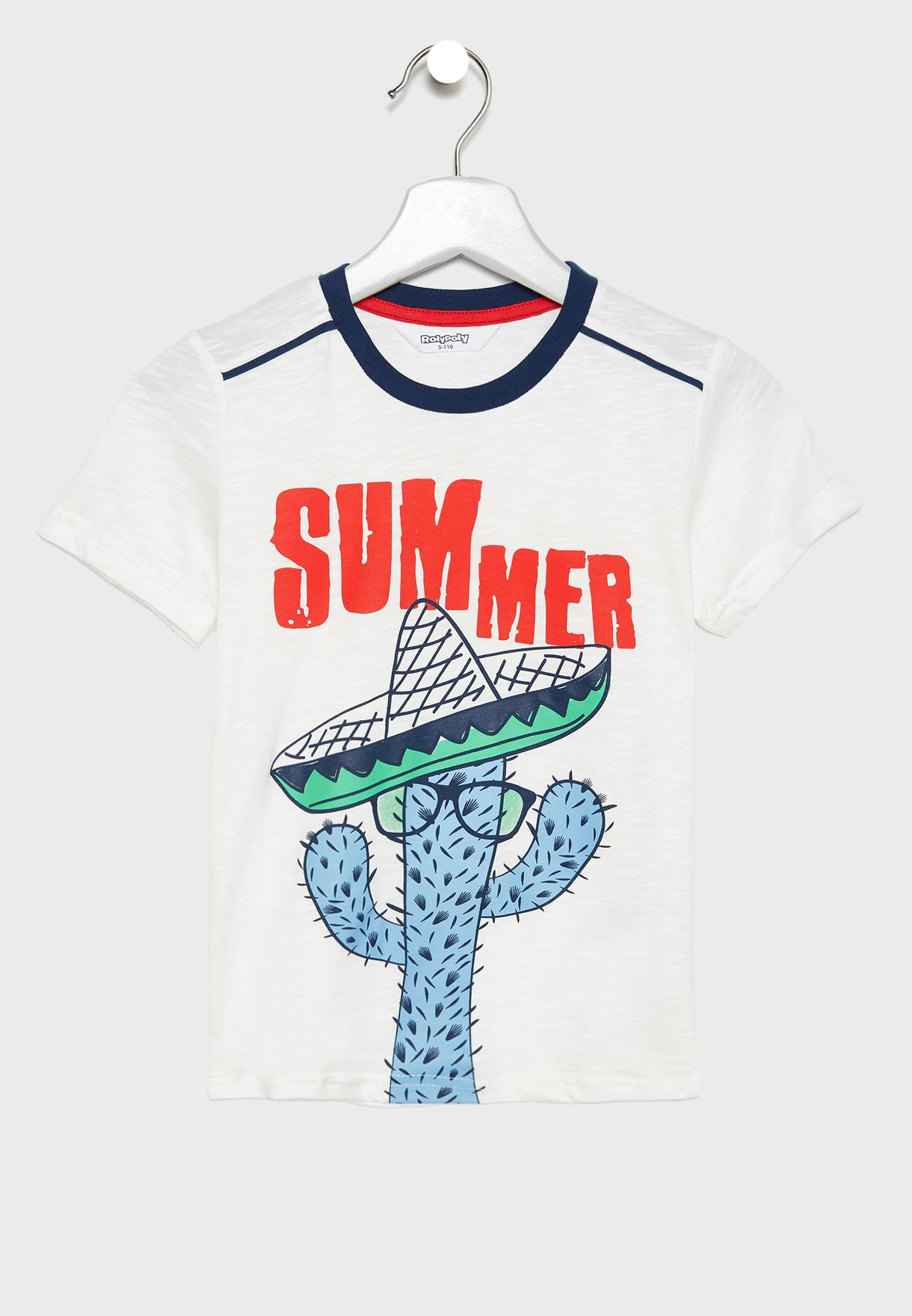 Infant Cool T-Shirt + Printed Shorts Set