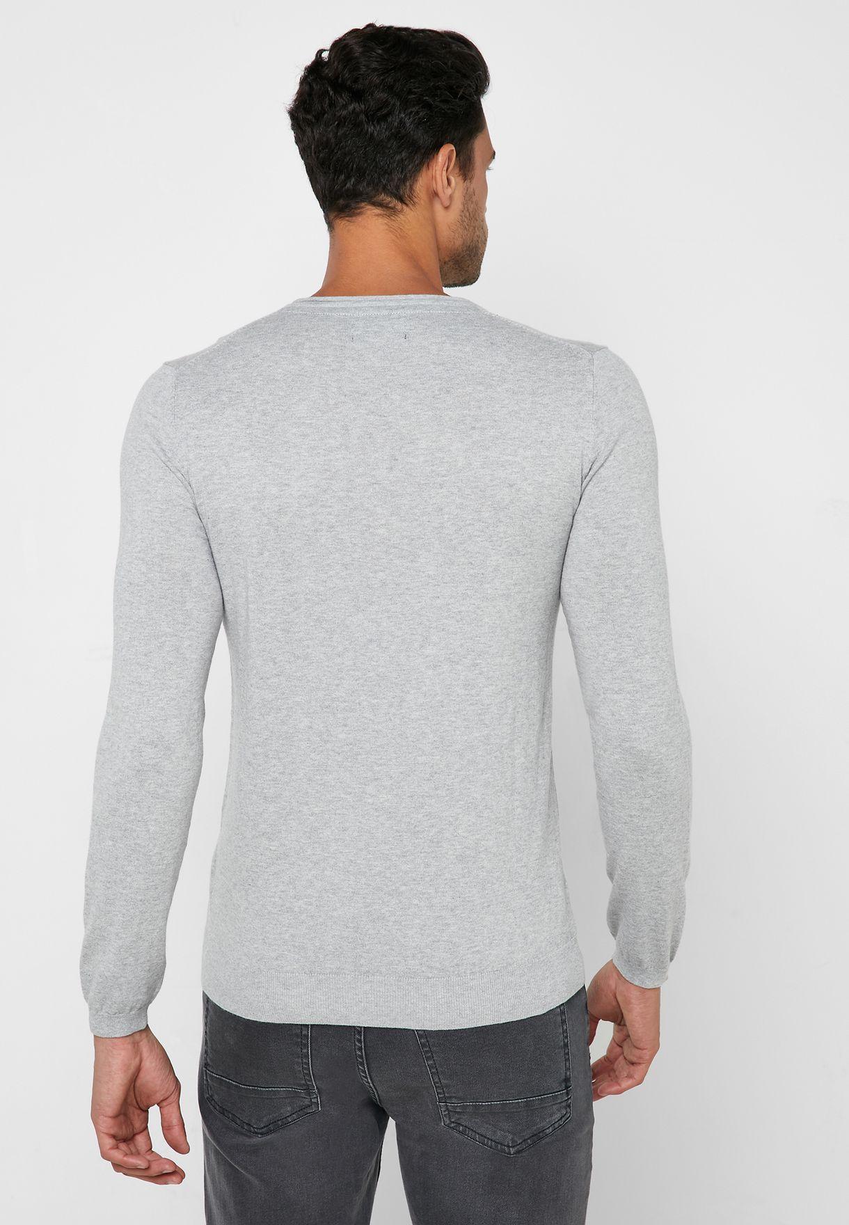 Regular Fit V-Neck Sweater