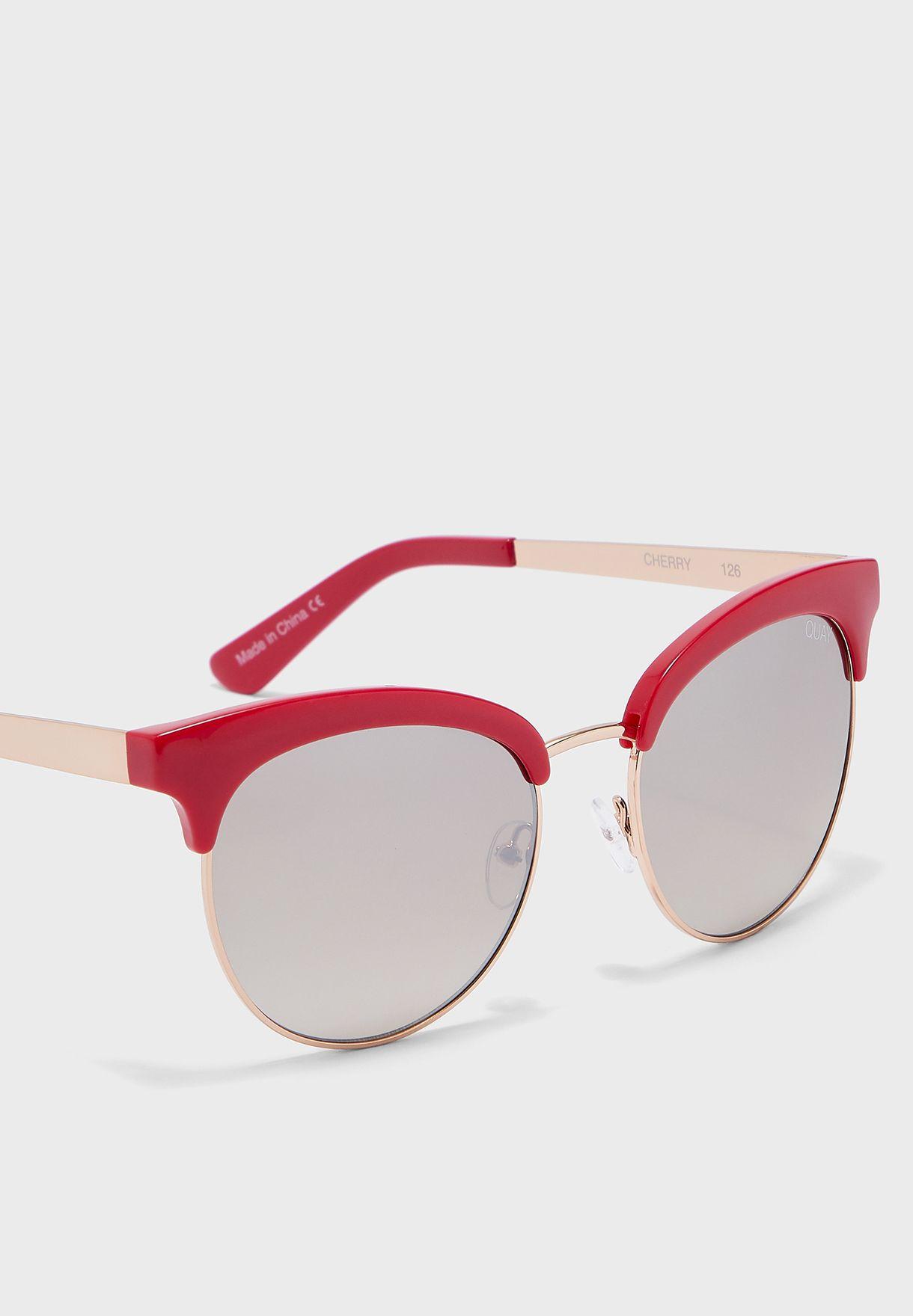 نظارة شمسية بنصف إطار