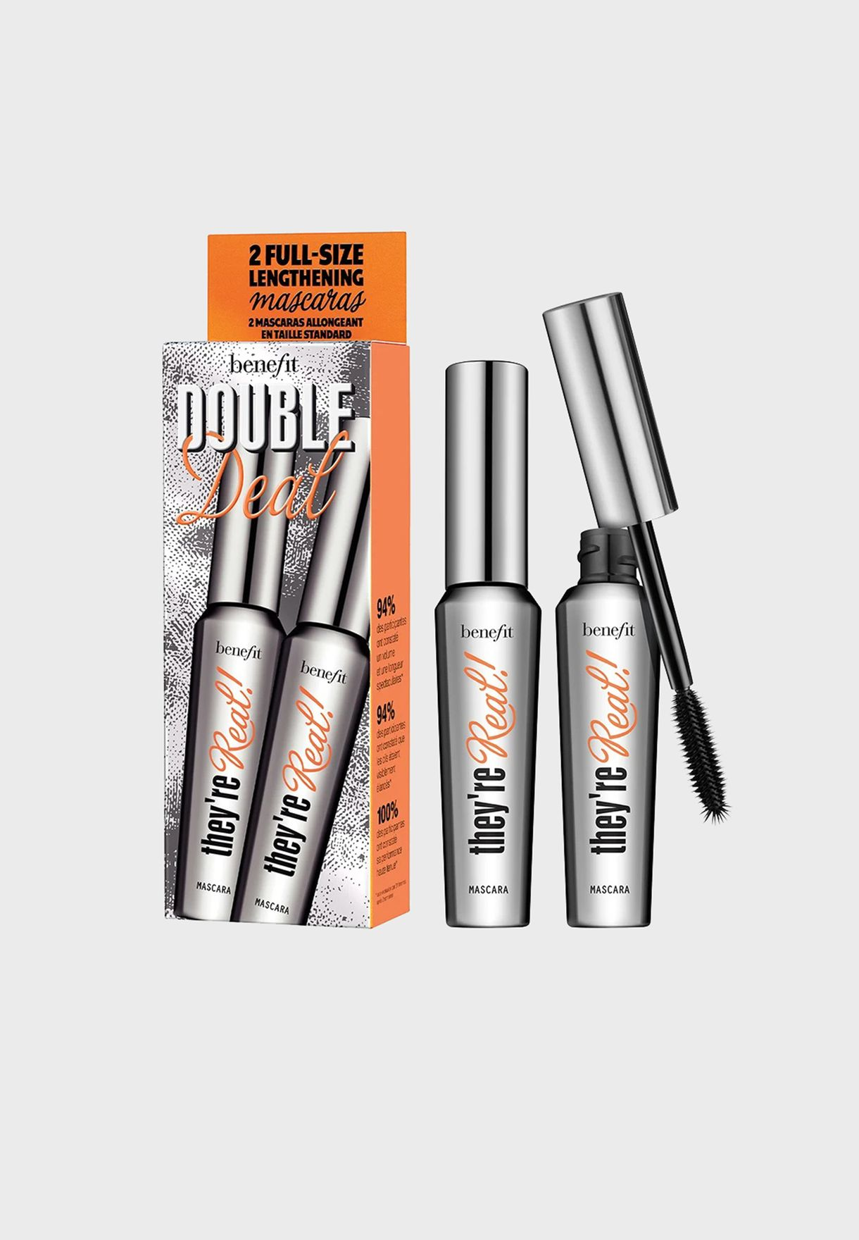 They're Real Mascara Double Deal Set