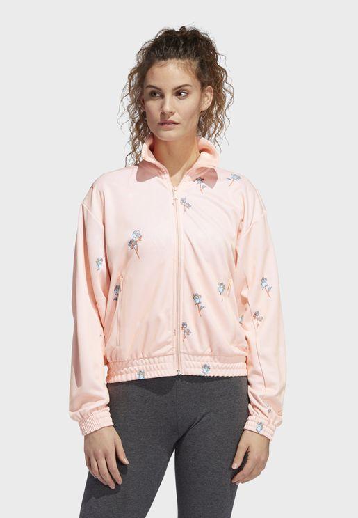 Floral Track Jacket