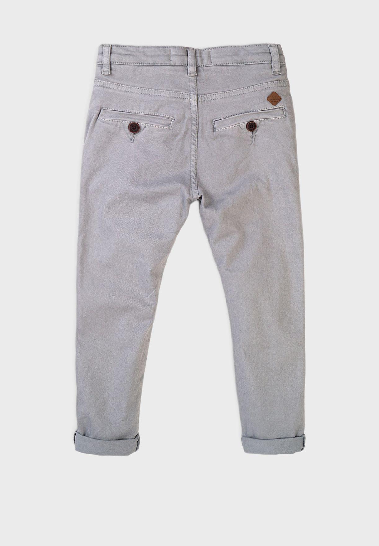 Kids Basic Chino Pants
