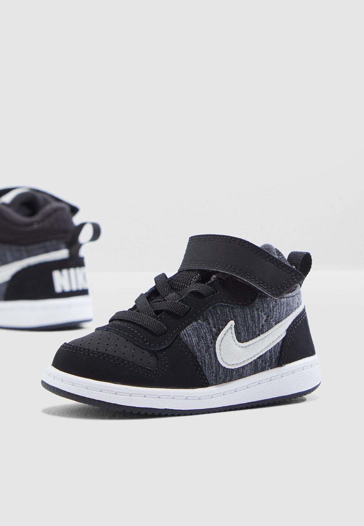 Buy Nike black Infant Court Borough Mid