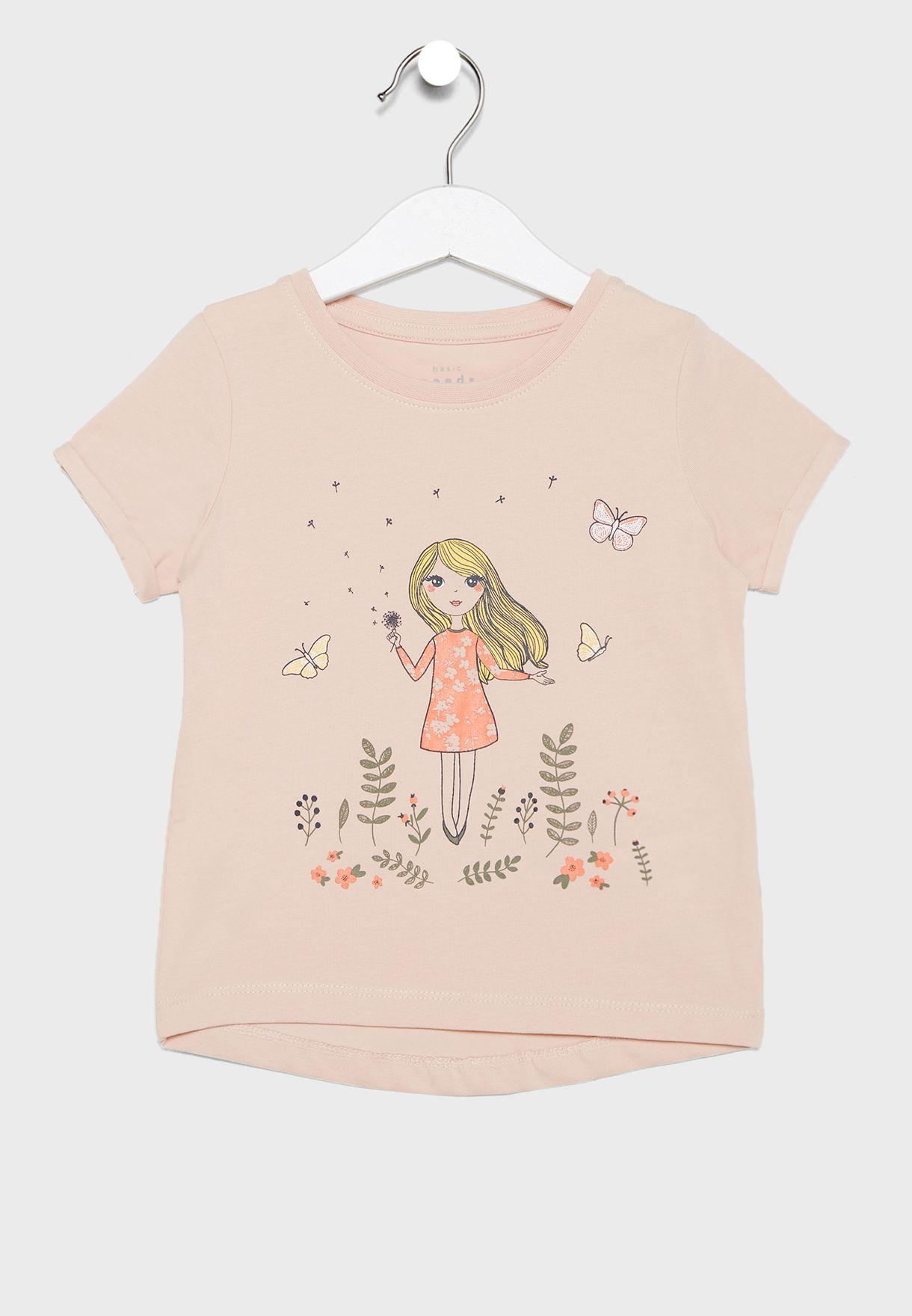 Kids 2 Pack Graphic T-Shirt