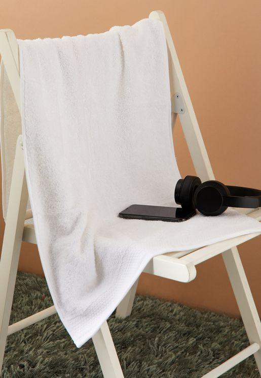 White Bath Towel 50 X 110cm