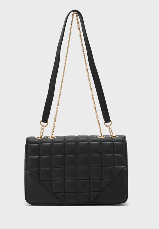 Elle Quilted Crossbody